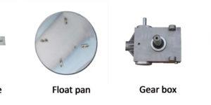 trowel machine parts