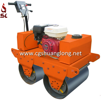 double drum road roller,walk behind vibratory roller,walk behind roller for sale