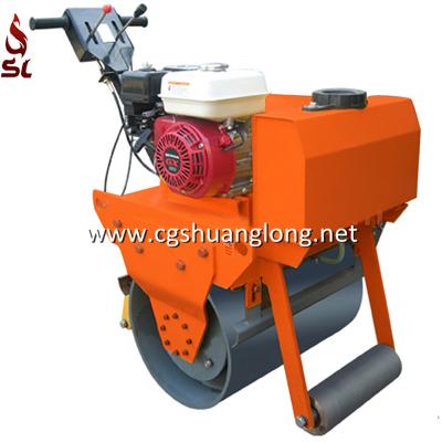 asphalt roller,road roller,walk behind double drum vibratory roller