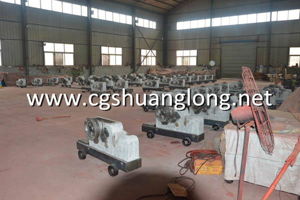 Production of GQ50 steel rebar cutter machine