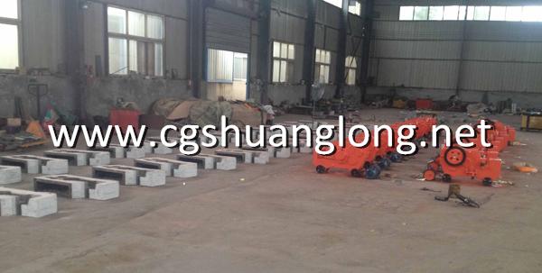 Production of GQ40L steel bar cutting machine
