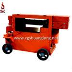 scrap rebar recycling, scrap bar straightening machine