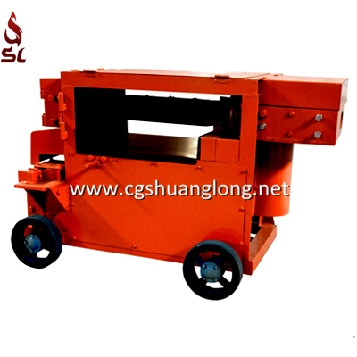scrap rebar recycling, scrap bar straightening machine