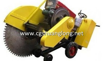 concrete slab cutter machine, saw cut concrete slab