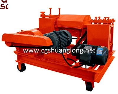 MYH6-14 steel bar scrap straightener machine