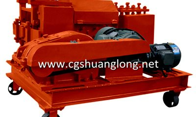 rebar straightening machine, scrap bar straightener