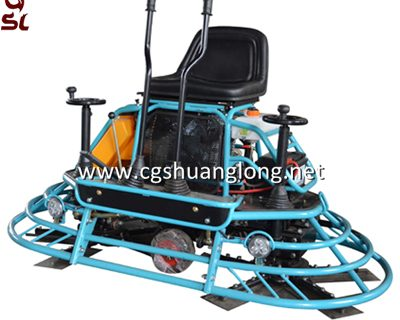 JS36 ride on trowel machine