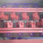 straightening frame*straightening roller appliance