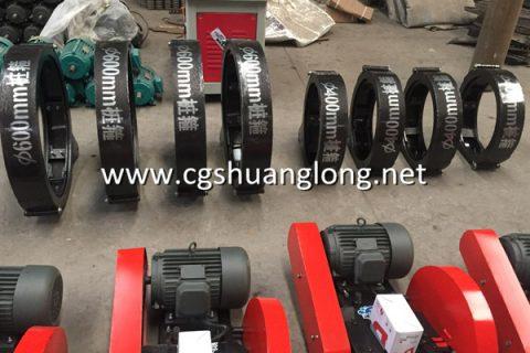 QZ400 concrete spun pile cutting machine for sale-Shuanglong