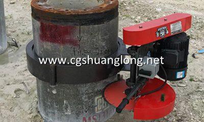 QZ400 concrete pile cutter 2